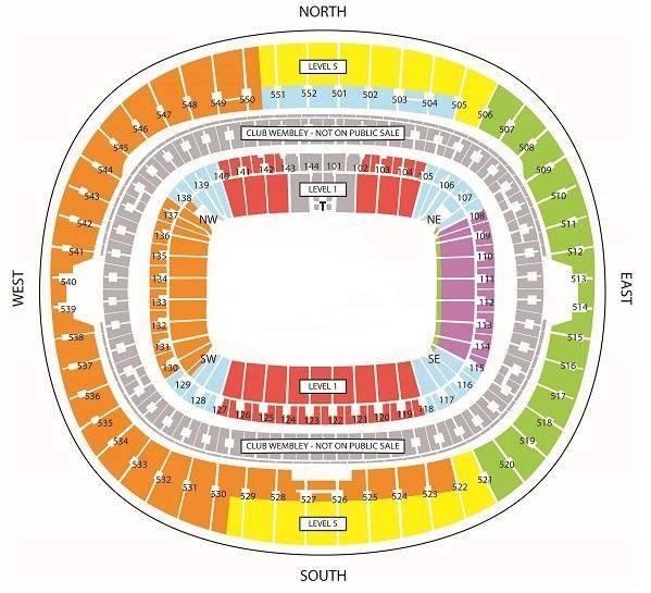Anglicko Wembley zájazd vstupenky