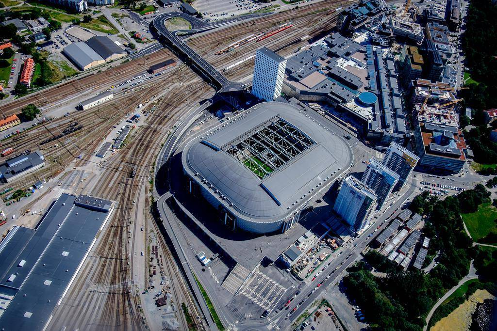 friends arena from