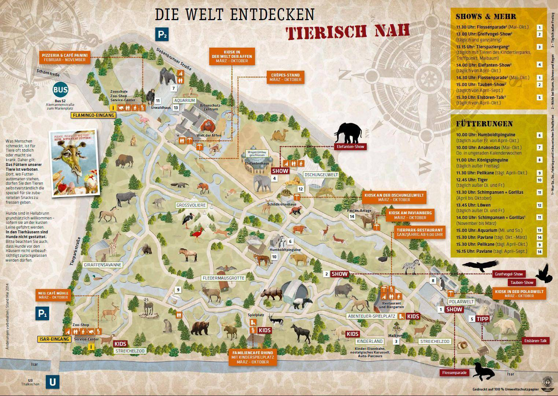 zoo mapa mnichov