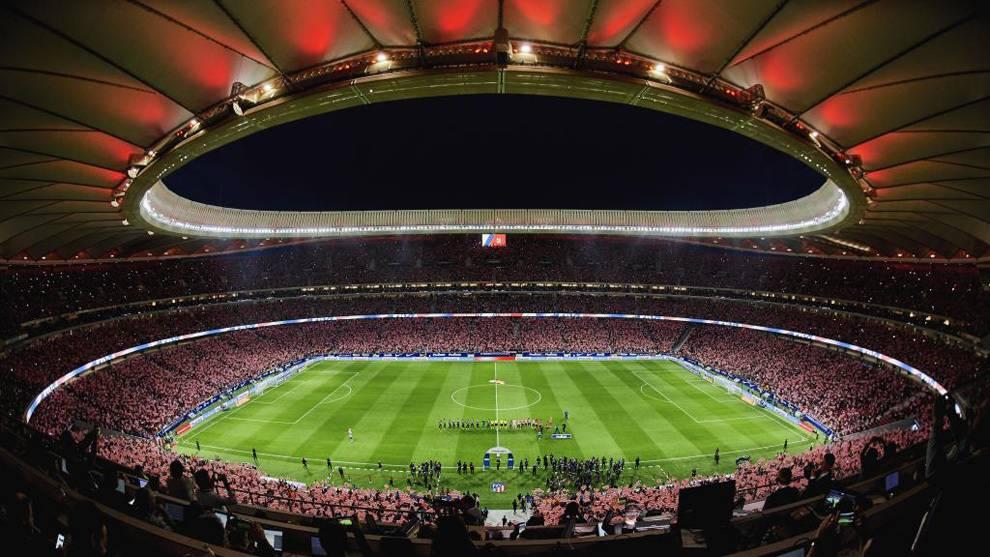 atletico madrid - wanda stadion
