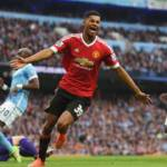 manchester united derby rashford gol
