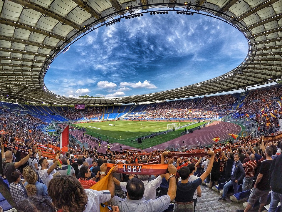 stadio olimpico - AS- AS ROM - Fans