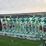rapid vieden stadion choreo