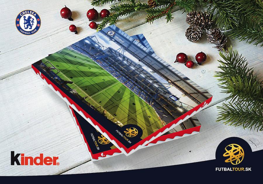 futbalovy adventny kalendar chelsea