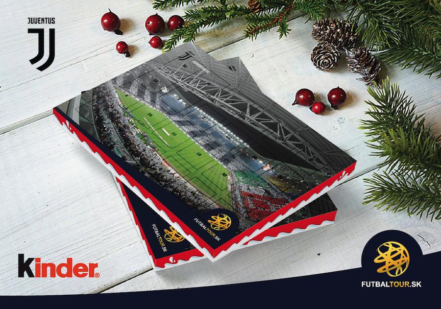 futbalovy adventny kalendar juventus turin