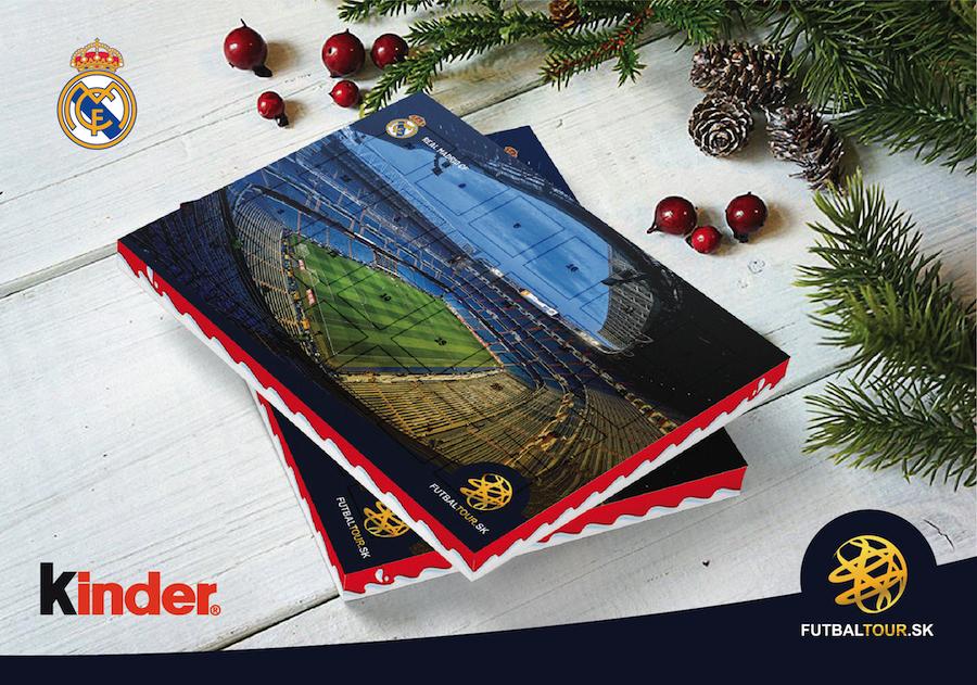 futbalovy adventny kalendar real madrid