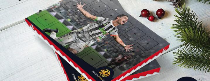 futbalovy adventny kalendar cristiano ronaldo juventus cr7
