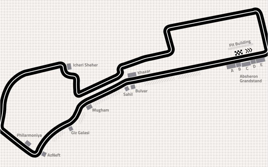 Formula 1 Vstupenky Na Veľku Cenu Azerbajdzanu Futbaltour Sk