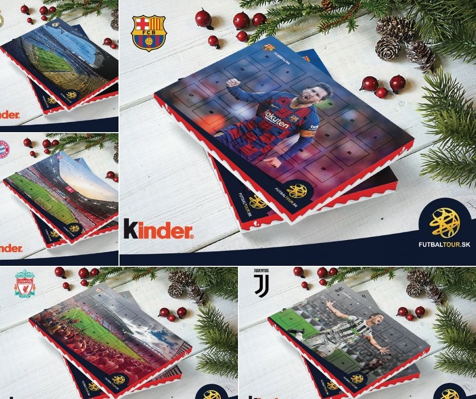 futbalove adventne kalendare
